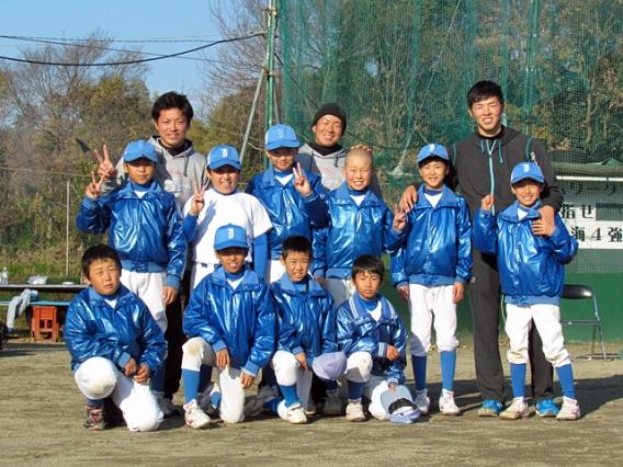 12月18日、社会人野球 JR東海の選手による野球教室が行われました
